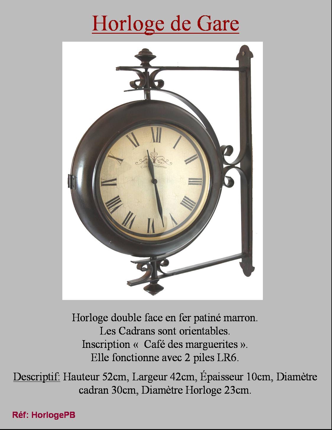 beautiful sur le vendeur grosse horloge murale ancienne with grande horloge murale ancienne. Black Bedroom Furniture Sets. Home Design Ideas