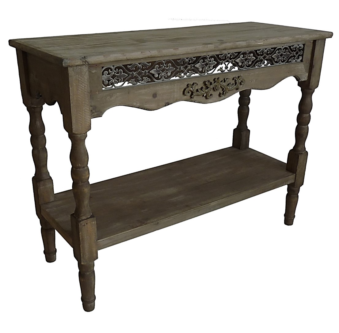 Console etagere gueridon table d entr e de drapier - Table console ancienne ...