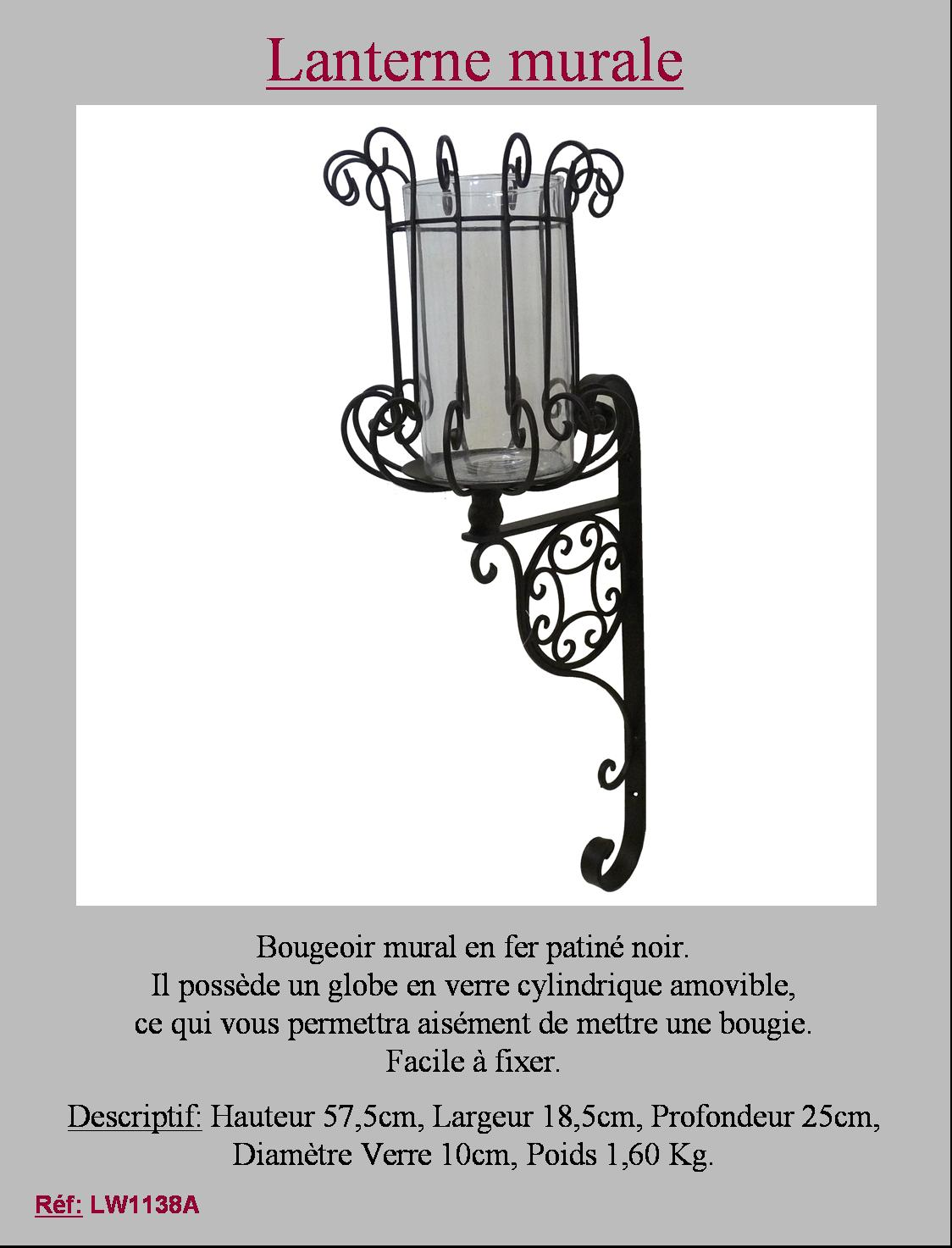 Style ancienne ancien applique bougeoir chandelier a for Bougeoir mural ancien