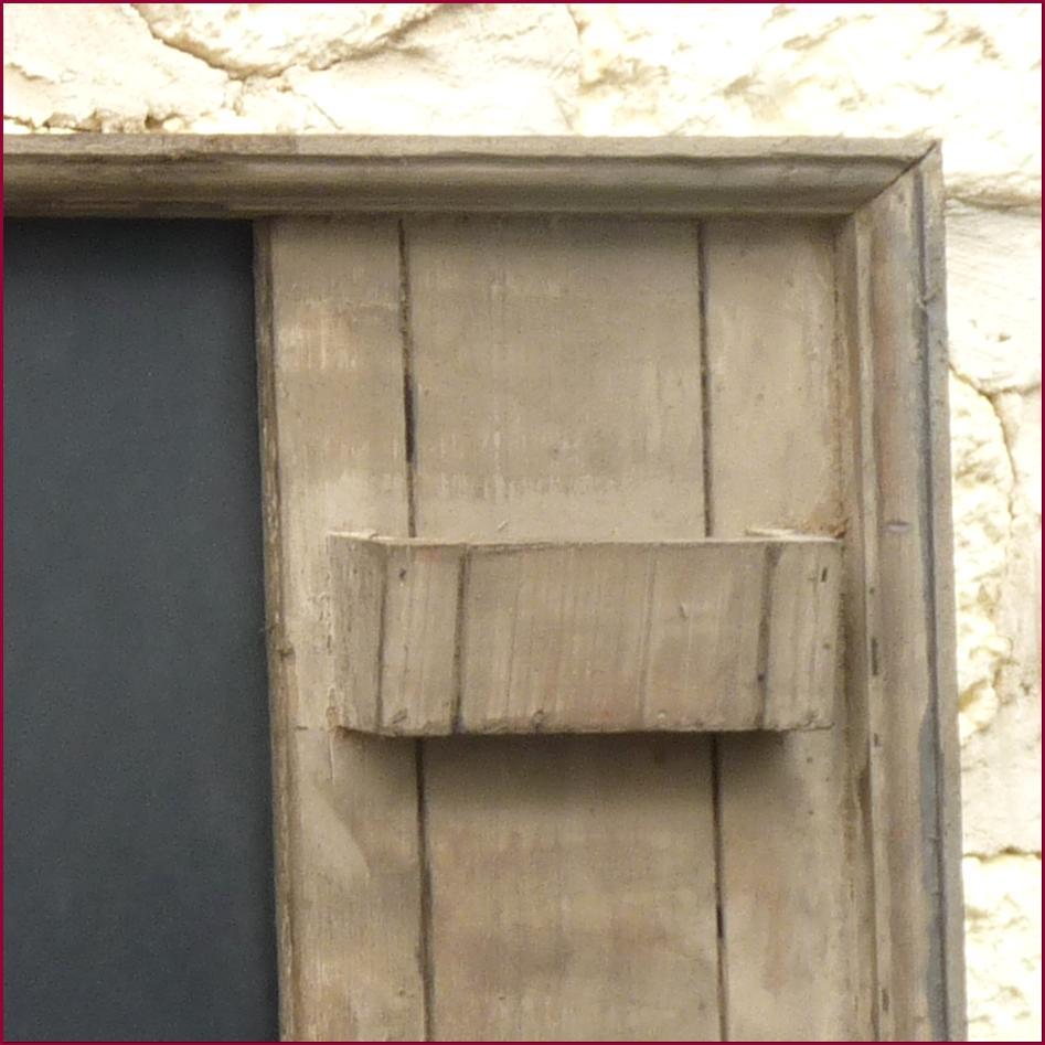 Style ancien porte clef cles boite a courrier lettre for Plaque ardoise jardin
