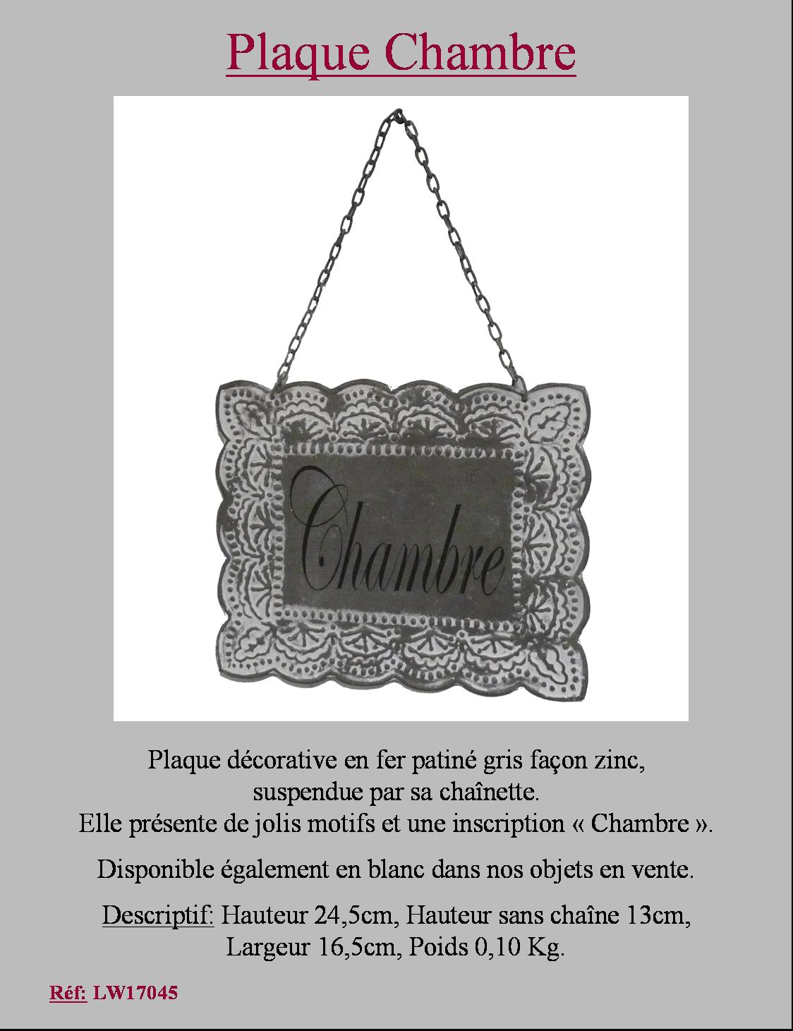 plaque fronton de porte de charme en metal fer murale chambre patine grise 16x13. Black Bedroom Furniture Sets. Home Design Ideas