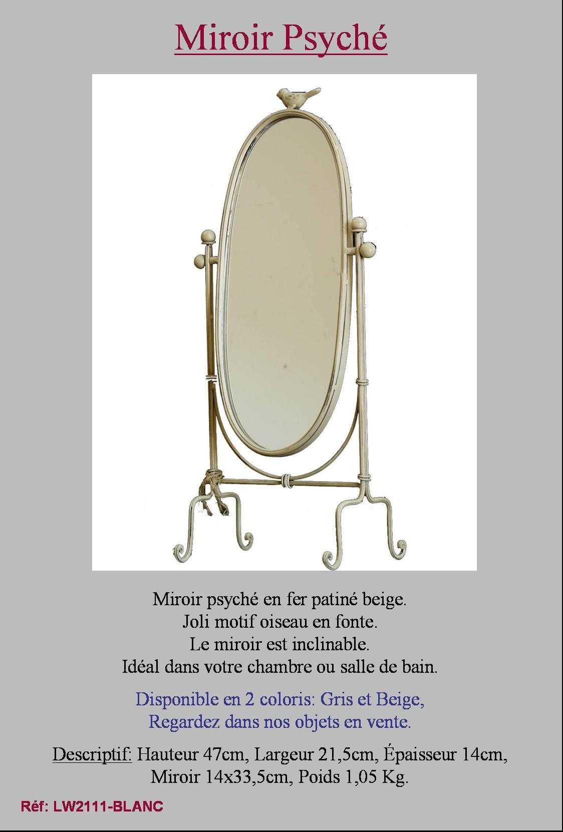 style ancien miroir a poser sur pied psyche psych de chambre coiffeuse table ebay. Black Bedroom Furniture Sets. Home Design Ideas