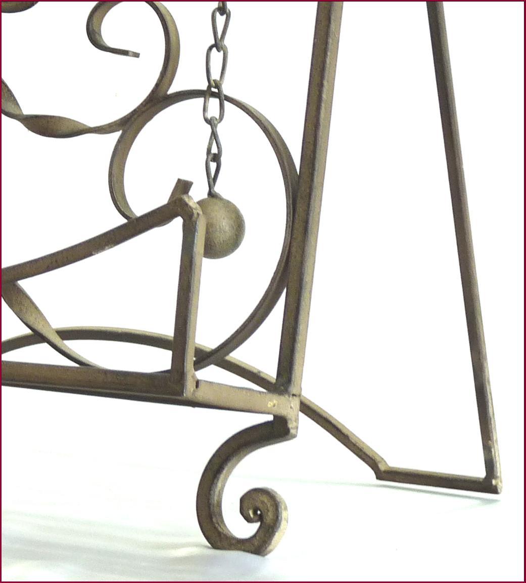 lutrin pupitre chevalet porte repose livre de lecture de cuisine en fer gris ebay. Black Bedroom Furniture Sets. Home Design Ideas