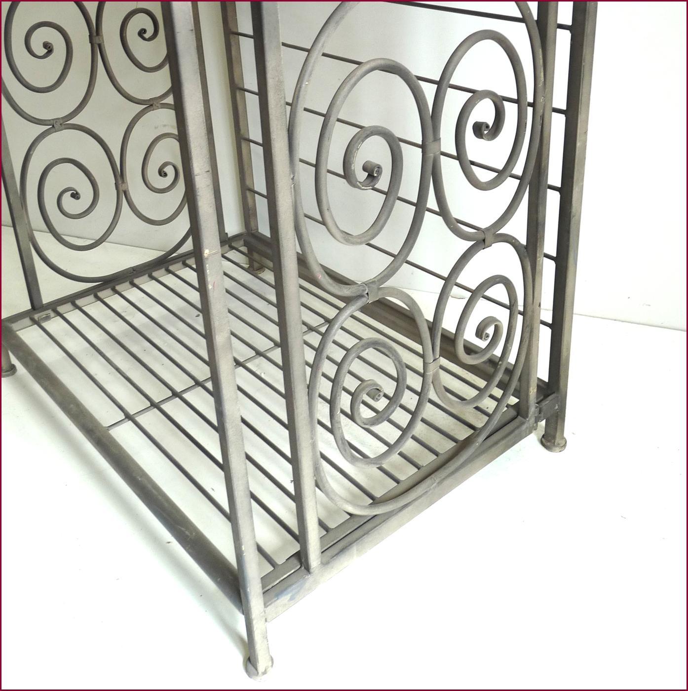 etagere boulangere bibliotheque console pliable pliante en fer de cuisine en fer ebay. Black Bedroom Furniture Sets. Home Design Ideas