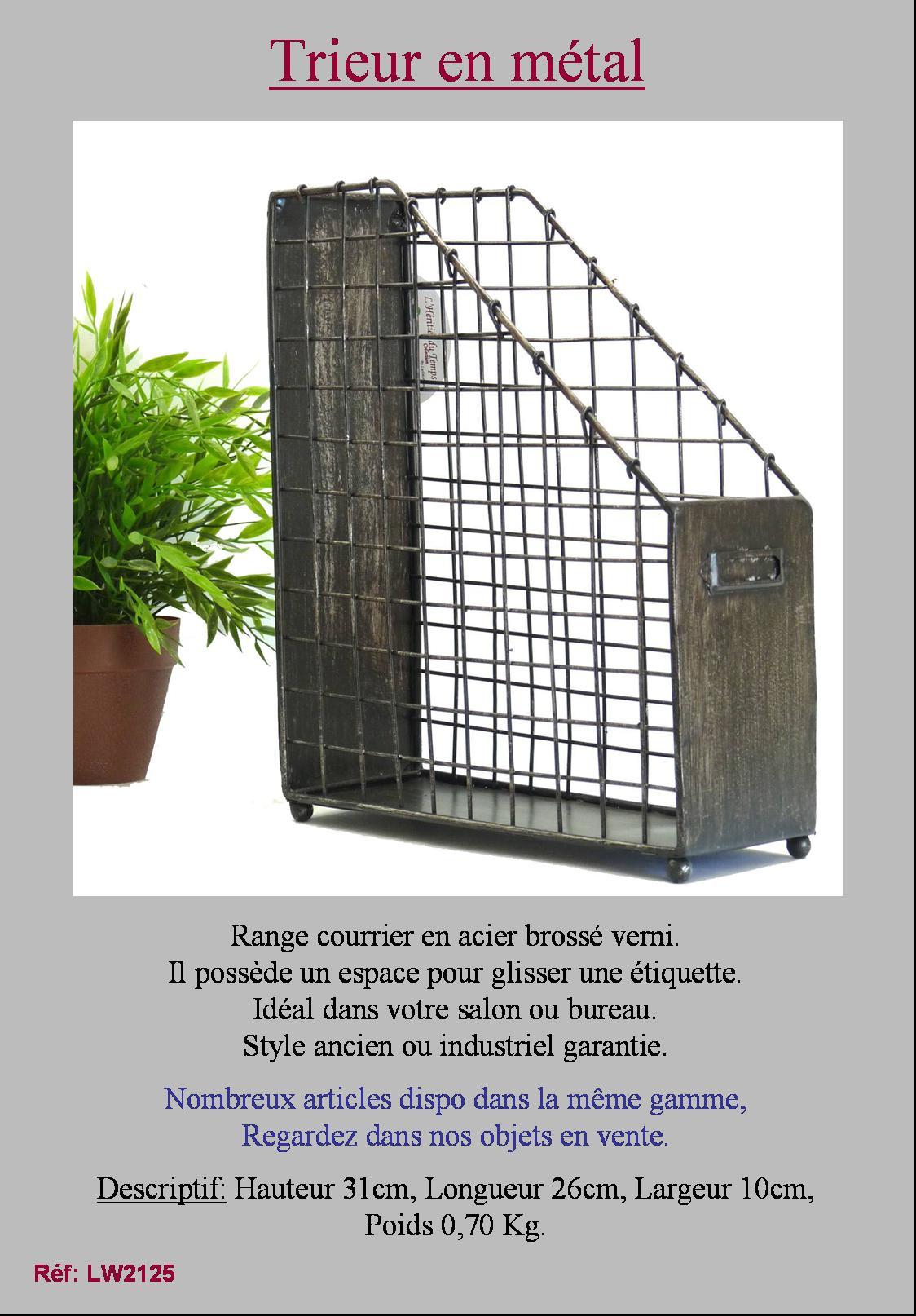 range document courrier magazine revue casier boite de. Black Bedroom Furniture Sets. Home Design Ideas