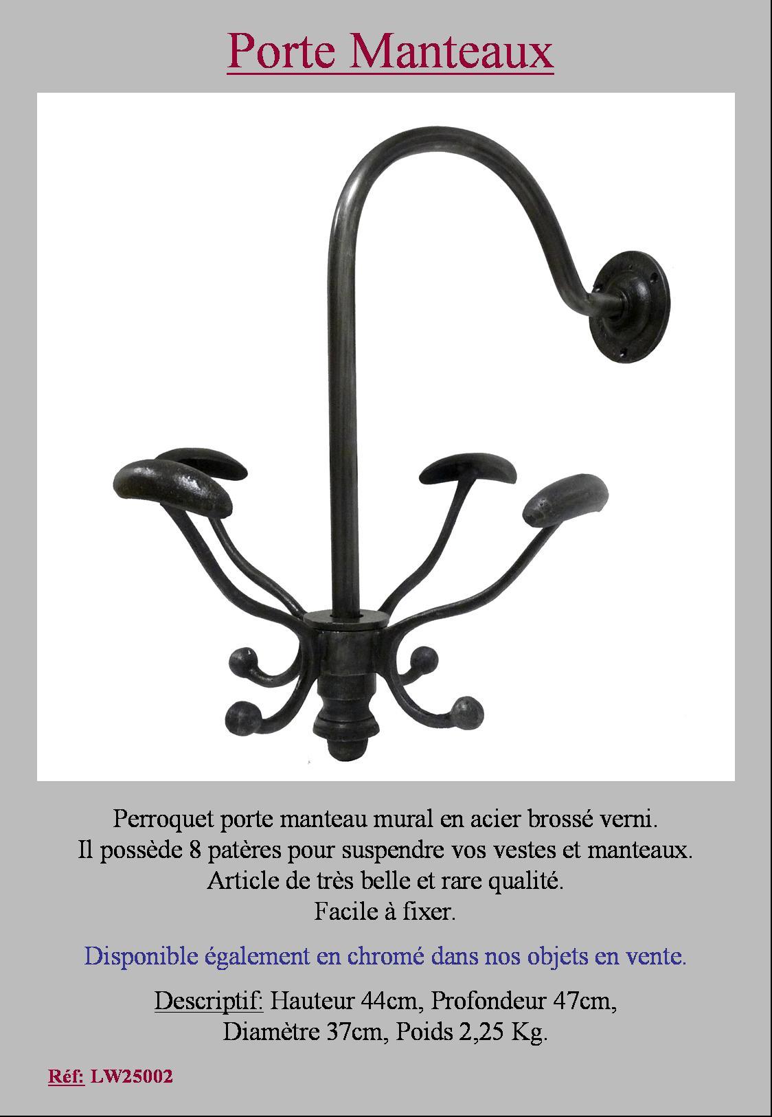 meilleur de ebay porte manteau perroquet l 39 id e d 39 un porte manteau. Black Bedroom Furniture Sets. Home Design Ideas