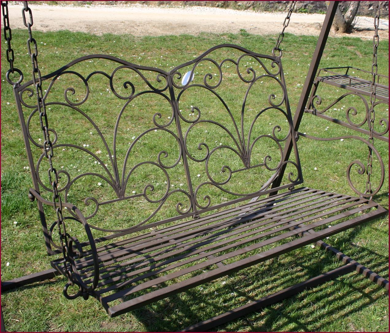 Style ancien banc fauteuil balancoire balancelle de jardin for Balancelle jardin