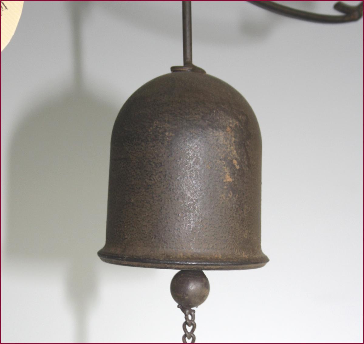 cloche sonnette de porte portillon portail d entree en fer fonte murale oiseau ebay. Black Bedroom Furniture Sets. Home Design Ideas