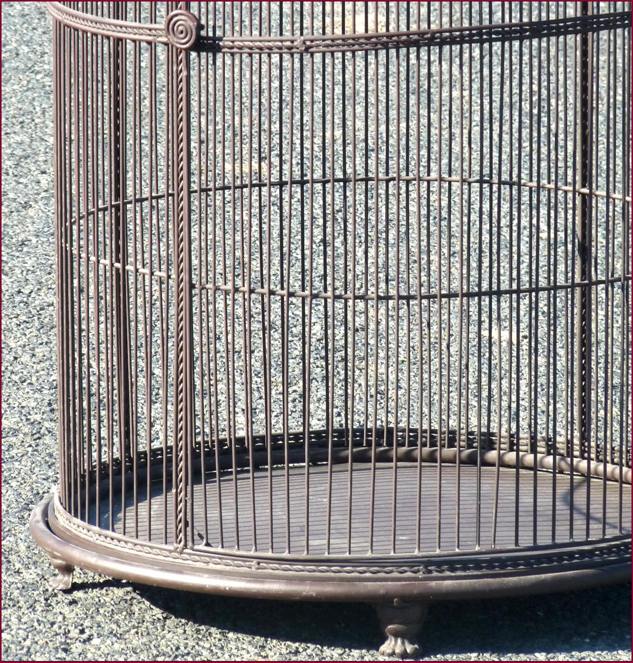 Voliere cage a oiseaux perroquet perruches canaries 170 for Cage a oiseaux deco