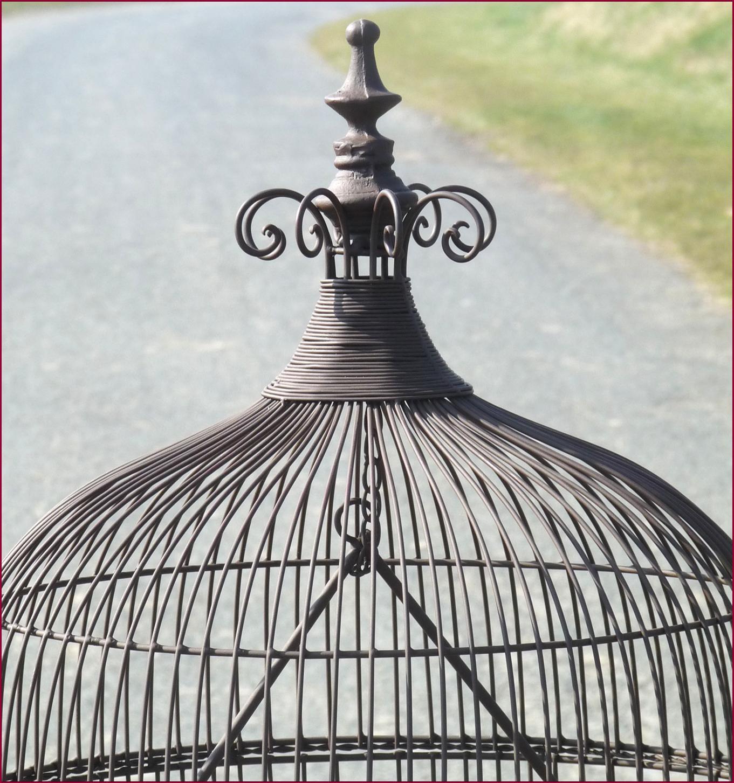 Style ancienne cage voliere a perroquet gros oiseaux en for Deco cage a oiseaux