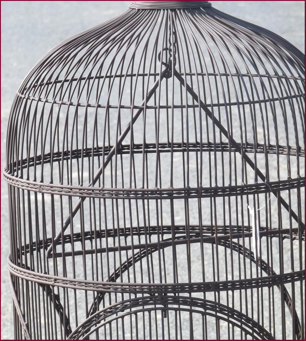 Voliere cage a canaries perroquet perruches oiseaux 162 for Cage a oiseaux deco