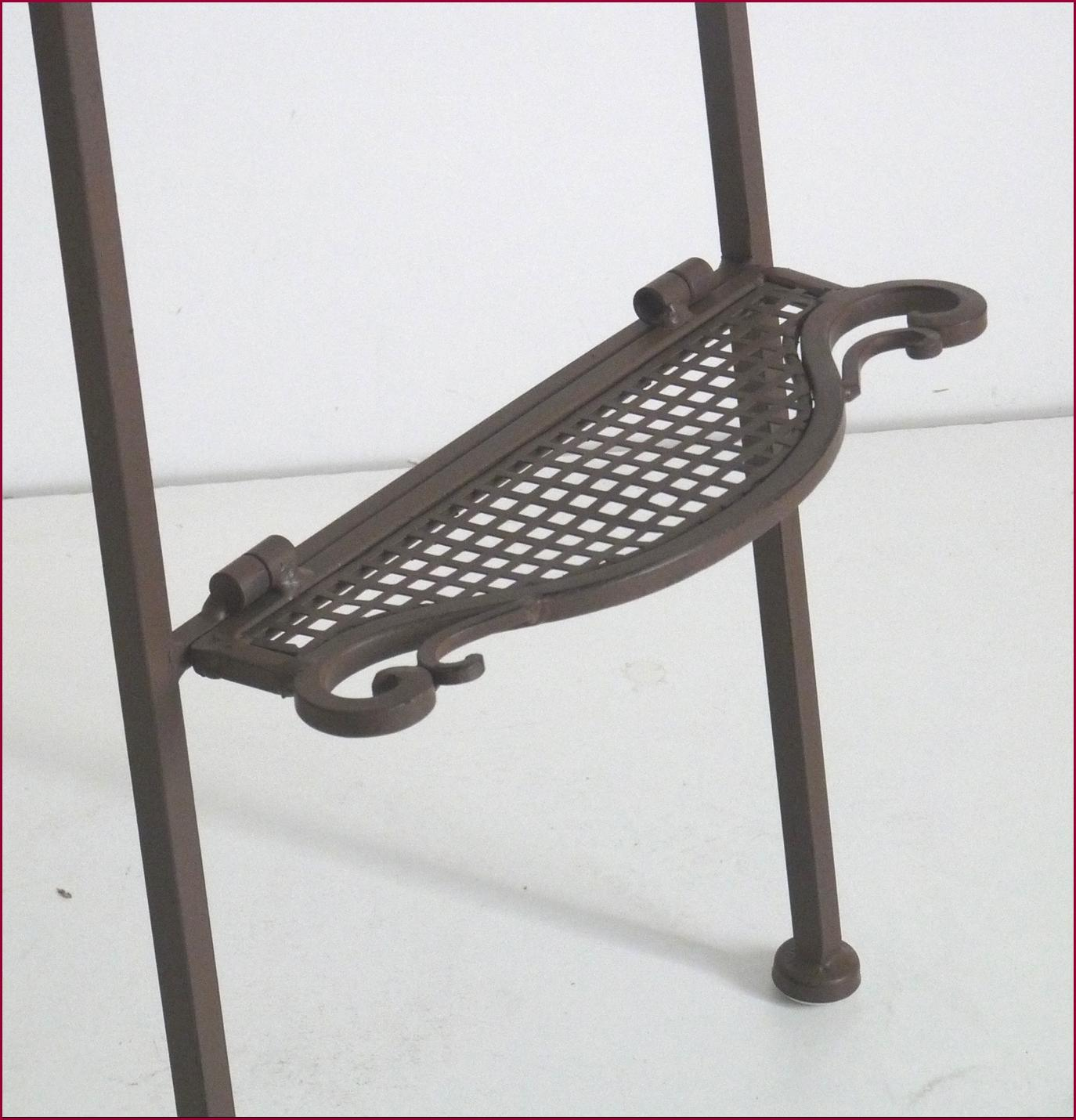 Chaise bar de bar de comptoir chaise haute en fer forge ebay for Chaise longue fer forge