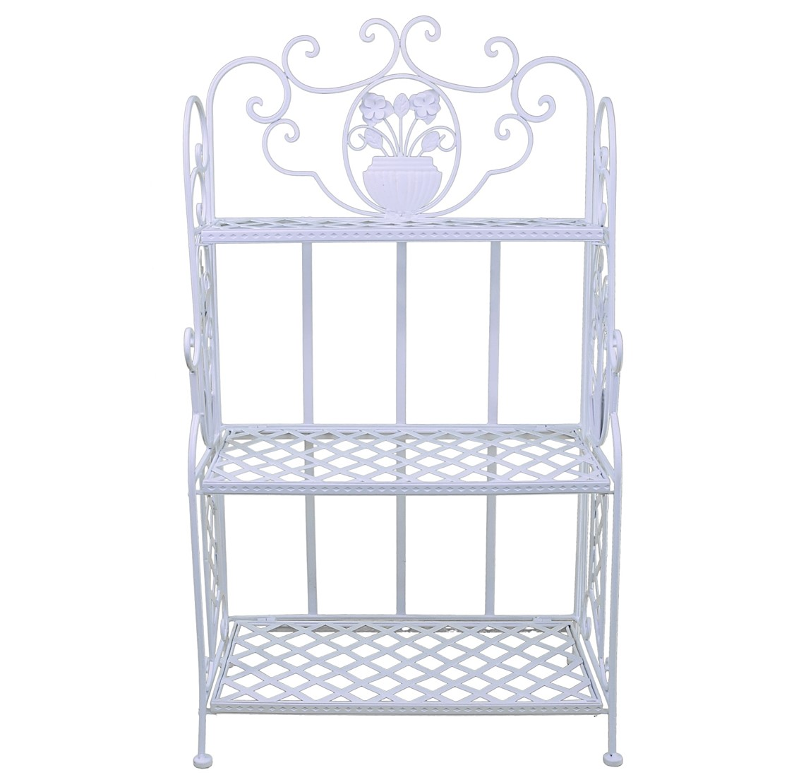 style ancienne etagere console bibliotheque de cuisine salle de bain fer banc ebay. Black Bedroom Furniture Sets. Home Design Ideas