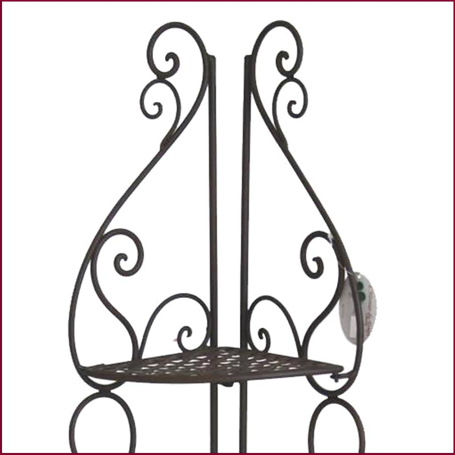 etagere de coin d angle en fer a etages de cuisine salon salle de bain 112cm -> Salon DAngle En Fer