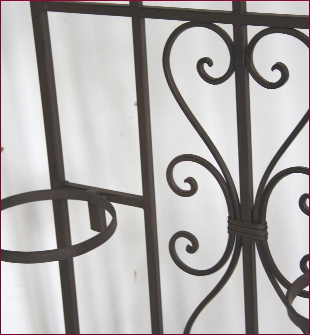 style ancienne jardiniere balconniere en fer metal murale. Black Bedroom Furniture Sets. Home Design Ideas