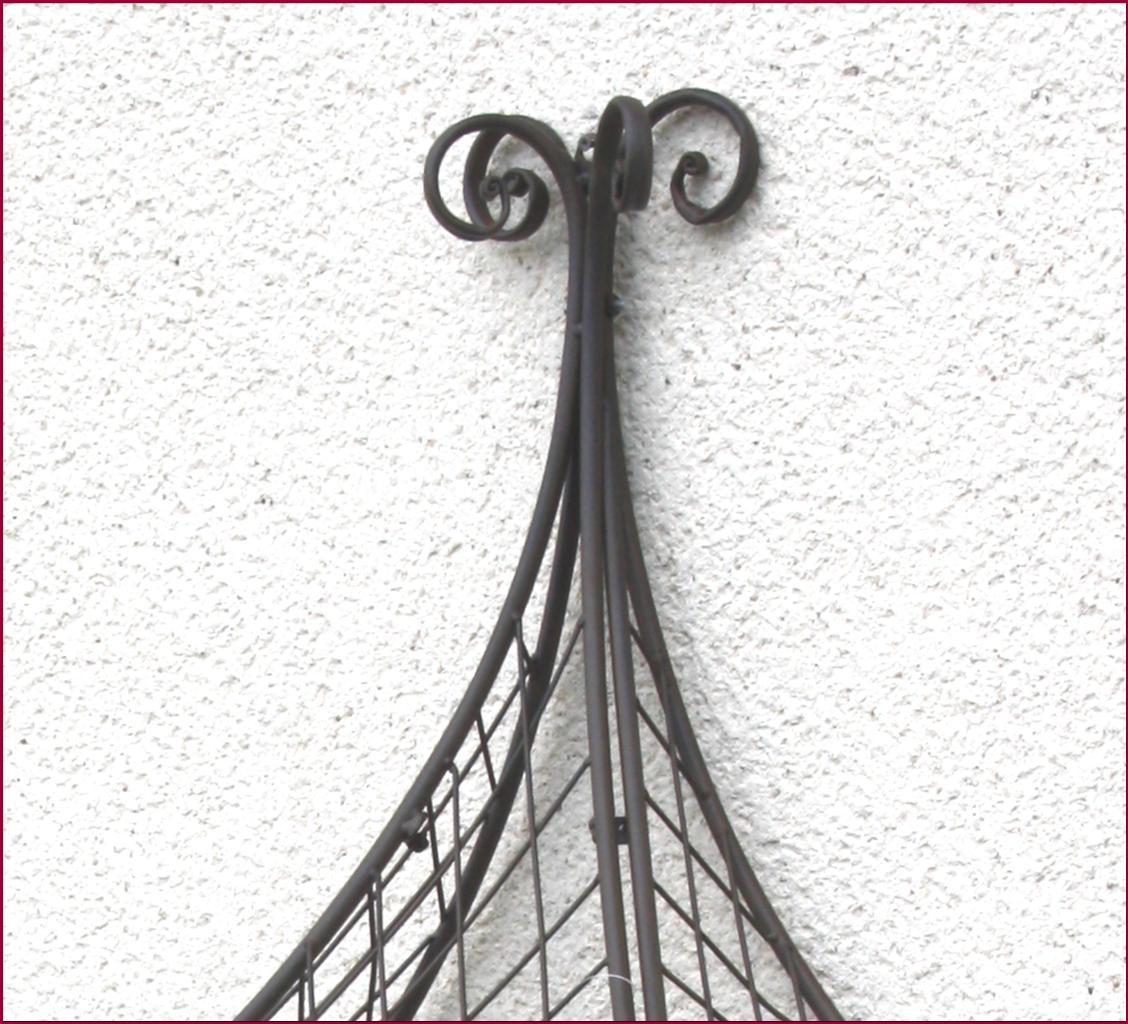 Dessus de porte arche tonnelle gloriette marquise de - Decoration murale en fer ...