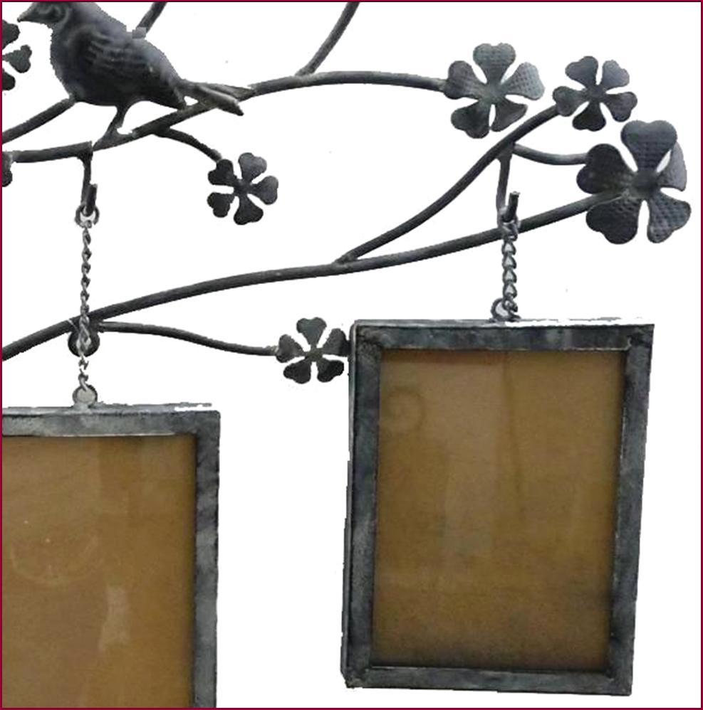 grand applique fronton cadre album porte photo mural encadrement pele mele fer ebay. Black Bedroom Furniture Sets. Home Design Ideas