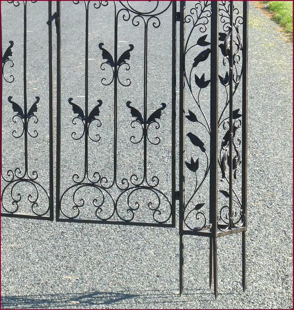 Style ancienne porte portillon grille barriere de jardin for Barriere de jardin