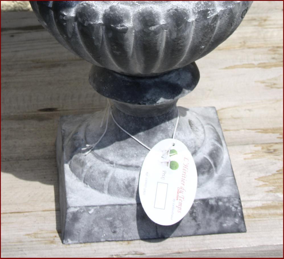 Vase Vasque Medicis Cache Pot Jardiniere En Fonte Plante