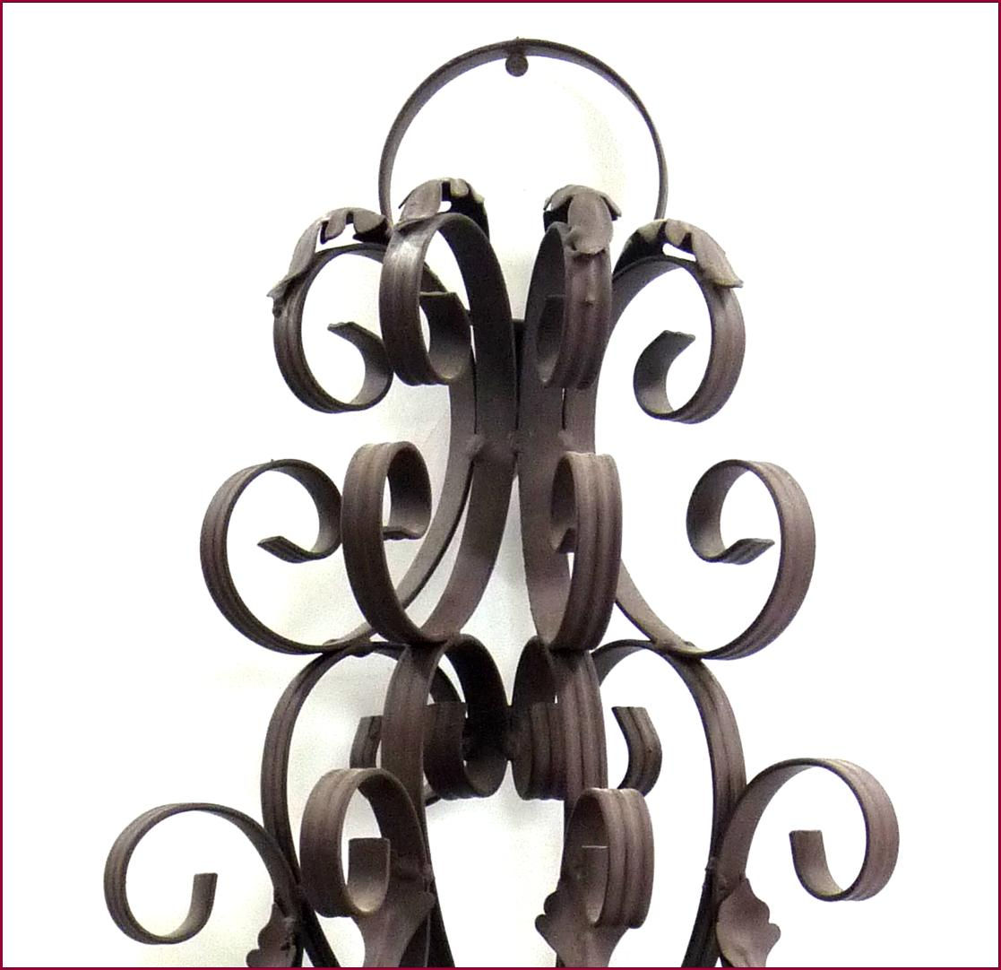Style ancienne applique bougeoir chandelier lustre mural e - Bougeoir mural fer forge ...