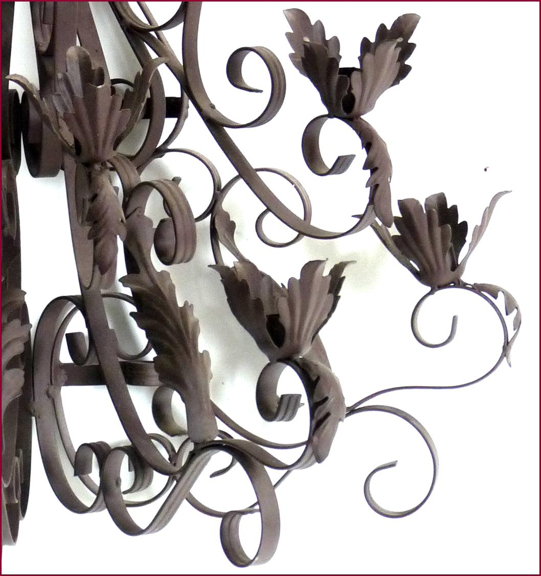 Style Ancienne Applique Bougeoir Chandelier Lustre Mural E