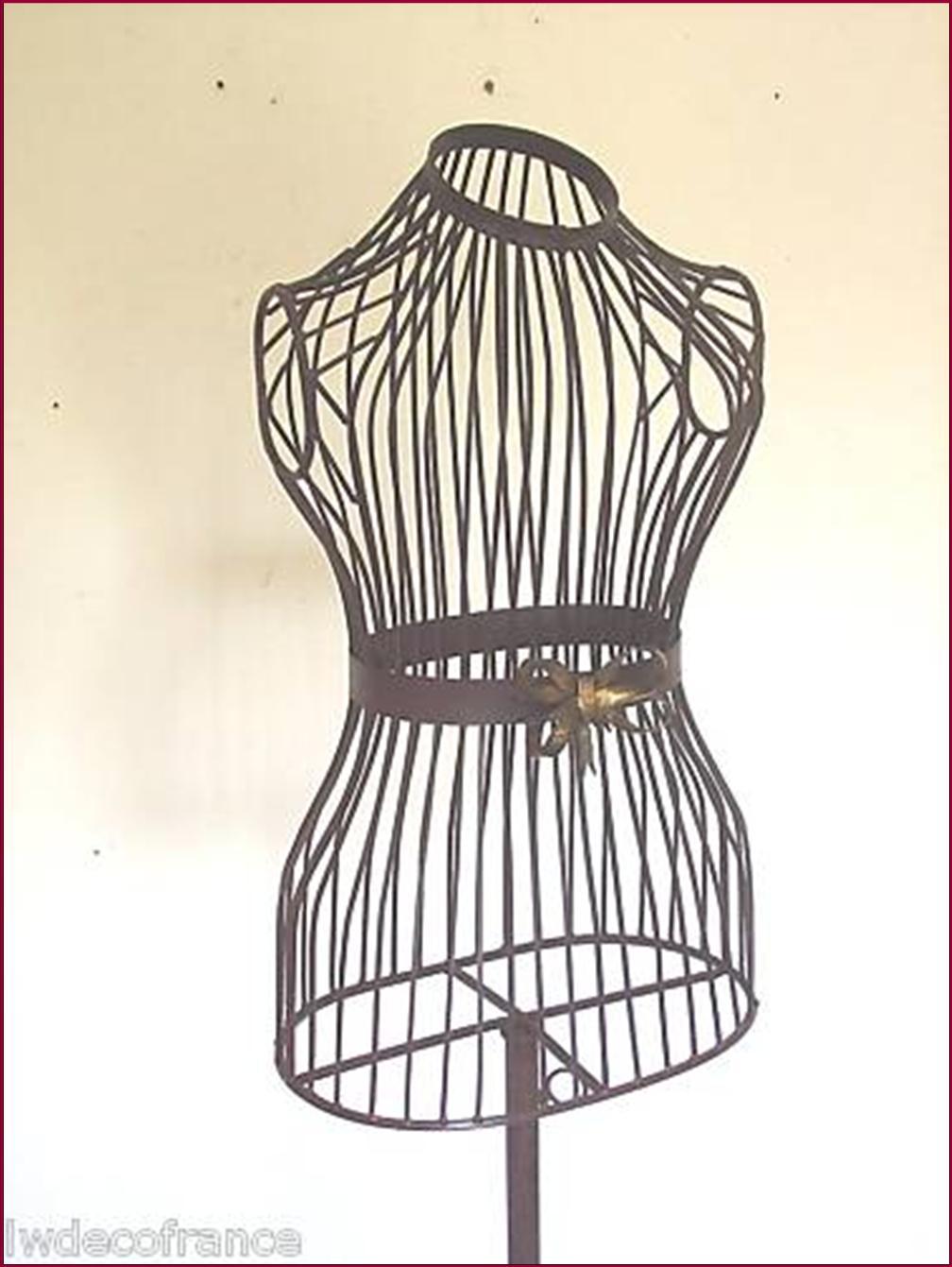 mannequin de couture buste statue en fer forge ebay. Black Bedroom Furniture Sets. Home Design Ideas
