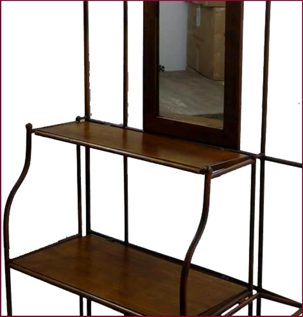 style ancien meuble d entr e avec miroir porte manteau. Black Bedroom Furniture Sets. Home Design Ideas