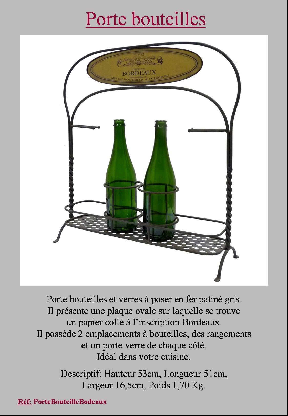 Style ancien porte bouteille et verre de table casier caisse range bouteille ebay - Porte bouteille de table ...